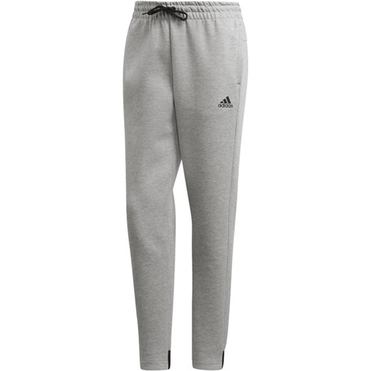 8b3526abd0f106 Spodnie sportowe Adidas z dzianiny bez wzorów w Domodi