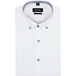 4186fb4165a79c Koszula męska biała Recman elegancka