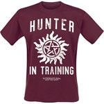Supernatural - Hunter In Training - T-Shirt - czerwony (Berry) - zdjęcie produktu