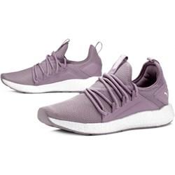 cb76a678e0 Puma buty sportowe damskie fioletowe bez wzorów sznurowane