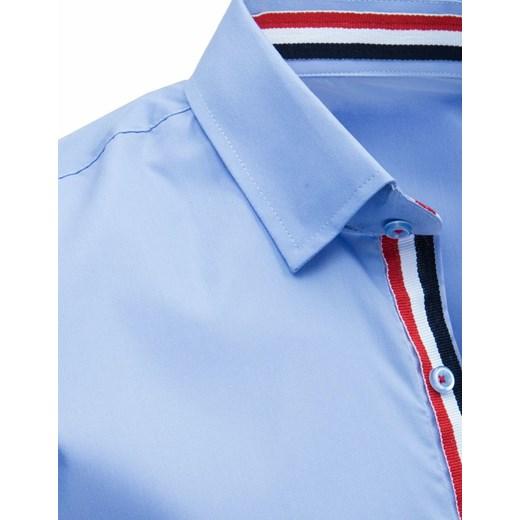 70% ZNIŻKI Koszula męska Dstreet elegancka z poliestru z  PP3X6