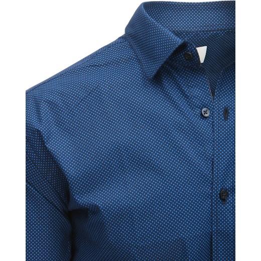 70% ZNIŻKI Koszula męska Dstreet z bawełny z długimi  pD7b3