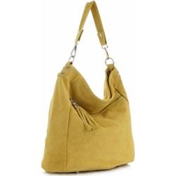 452cc481292cb Shopper bag Genuine Leather zamszowa