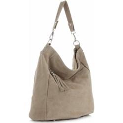 a0c73773dbb7a Shopper bag Genuine Leather na ramię skórzana
