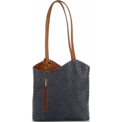 7b17cc9b6782a Shopper bag Genuine Leather elegancka na ramię