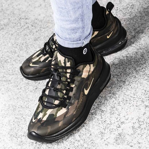 sports shoes c464f cddf0 Buty sportowe męskie Nike zielone wiosenne · Nike Air Max Axis Premium  (AA2148-002) Nike 41 Sneaker Peeker ...