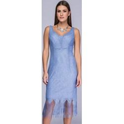 e4b505e201 Sukienka niebieska Semper midi