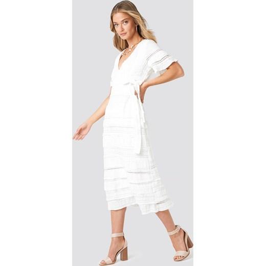 e6886bda77 Sukienka NA-KD Boho midi w Domodi