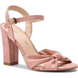 2b780a4dbdc68 Jenny Fairy sandały damskie na obcasie gładkie eleganckie ze skóry  ekologicznej na wysokim ...