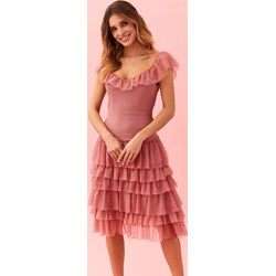 f5646b25 Sukienka Top Secret mini na wiosnę bez rękawów