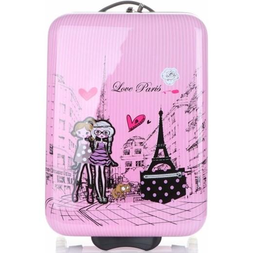 a9a2447fe063f Oryginalna Walizka Kabinówka Dla Dzieci Paris Firmy Madisson Multikolor -  Różowa PaniTorbalska promocyjna cena w Domodi