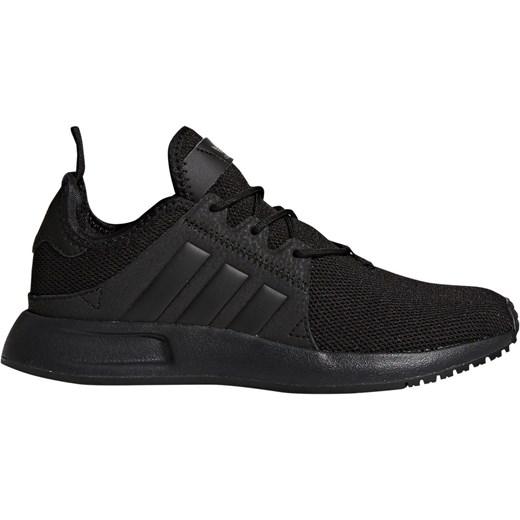 Czarne buty sportowe damskie Adidas Performance dla biegaczy młodzieżowe x_plr