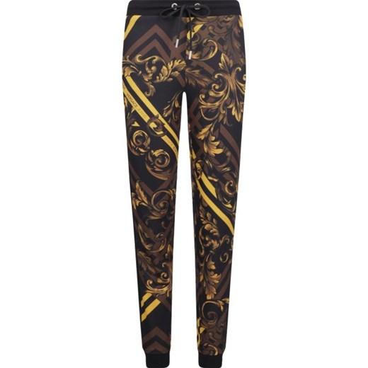 Versace Jeans spodnie damskie wielokolorowe