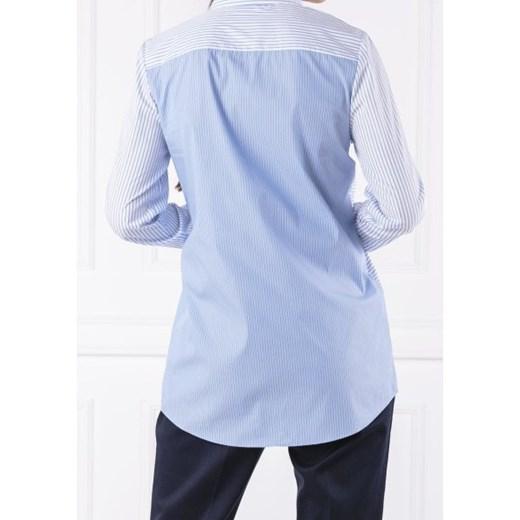 fb08951f2d0e6 ... Koszula damska Hugo Boss z kołnierzykiem z długimi rękawami bez wzorów  ...