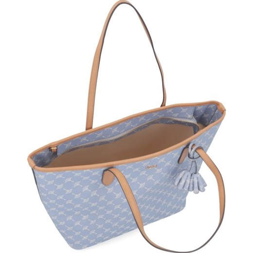 e6093aae3eacb ... Shopper bag Joop! duża niebieska z nadrukiem elegancka ...