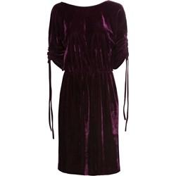c6f8d0911 Sukienka Bonprix bez wzorów czarna na sylwestra z okrągłym dekoltem