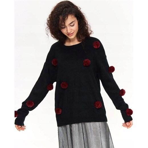 Sweter damski Top Secret Odzież Damska GG czarny Swetry
