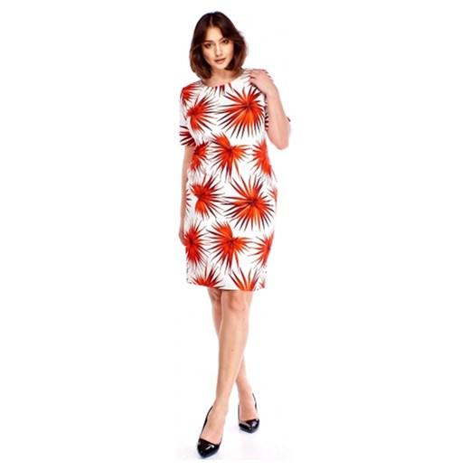 a5d8dc7bdf Sukienka M m z krótkimi rękawami z okrągłym dekoltem na spacer w Domodi