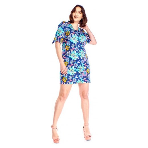 c5a0410bfa Sukienka w kwiaty Wesley 44 ptakmoda.com ...