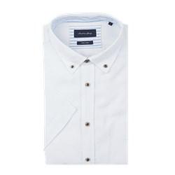 893ade8dc3899d Koszula męska Christian Berg Men bez wzorów lniana