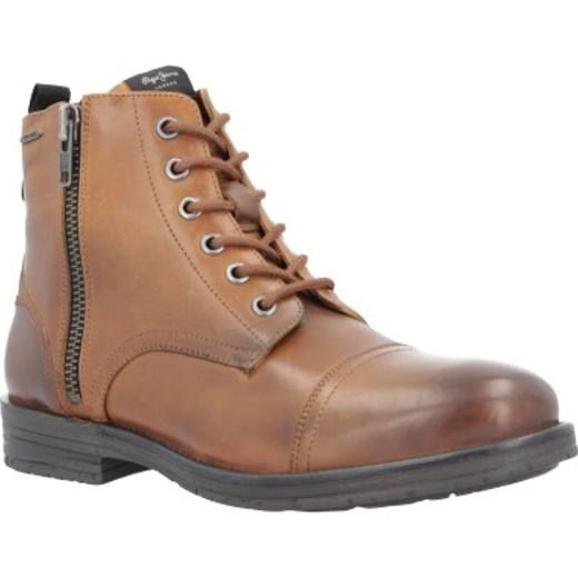 5c740521b4f66 Buty zimowe męskie Pepe Jeans wiązane casual w Domodi