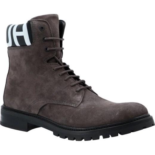 1762405c42487 Hugo Skórzane buty Explore_Halb_wxsd Hugo Boss 43 promocja Gomez Fashion  Store