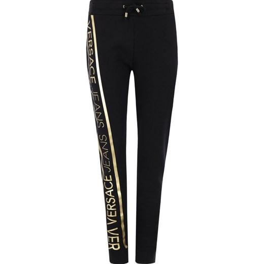 Spodnie damskie czarne Versace Jeans