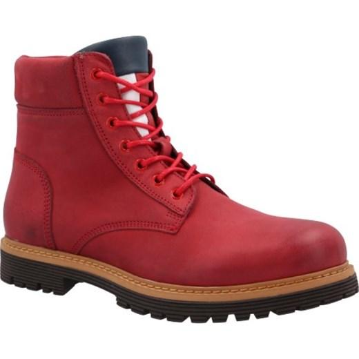9f1527696e898 Buty zimowe męskie Tommy Jeans skórzane w Domodi