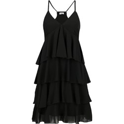 aee8466cc51612 Sukienka Liu jo mini czarna na ramiączkach