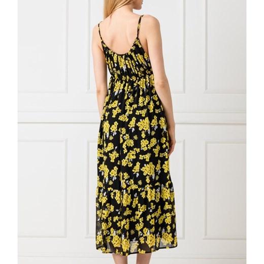 a0d9a2249e ... Sukienka Michael Kors midi w kwiaty na spacer prosta ...