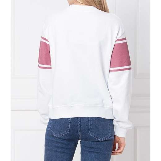 Bluza damska NA KD z napisami krótka