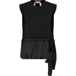 3c0b5635561a Bluzka damska N21 gładka czarna