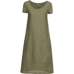 e878381e33 Sukienka Bonprix na co dzień z okrągłym dekoltem z krótkim rękawem