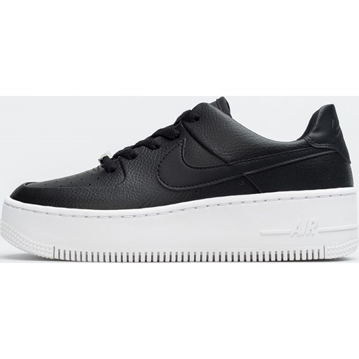 3ea31774 Buty sportowe damskie Nike do biegania air force sznurowane płaskie bez  wzorów