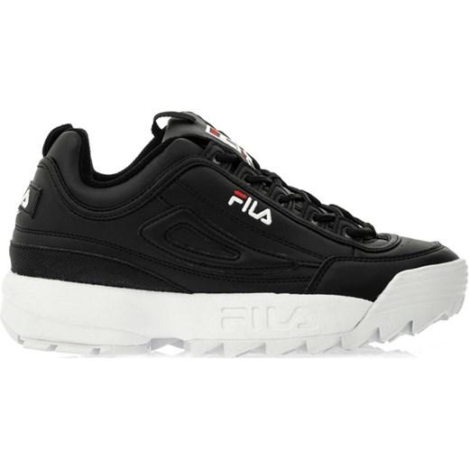 Sneakersy damskie Fila sportowe na platformie bez wzorów