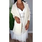 Płaszcz z alpaki simple, modne kolekcje 2020 w Domodi
