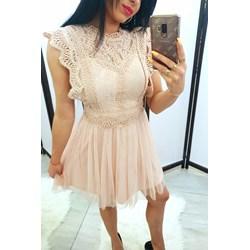 9ee4f78aba Sukienka Tajus na co dzień bez rękawów