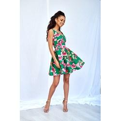 e0d181e192 Sukienka Mosquito na spacer na wiosnę z dekoltem v