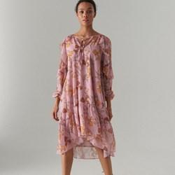 63605fde41 Sukienka Mohito midi z długim rękawem