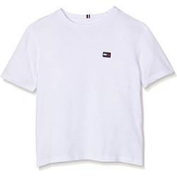 f0fa9c4446dff T-shirt chłopięce Tommy Hilfiger z krótkim rękawem bez wzorów