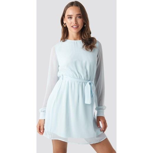 fbcd4032cb Sukienka NA-KD mini na co dzień w Domodi