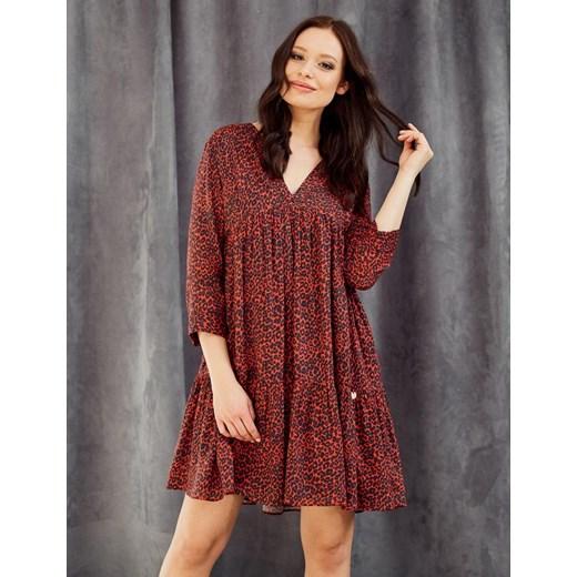 oferta Sukienka czerwona Diverse na spacer Odzież Damska MQ