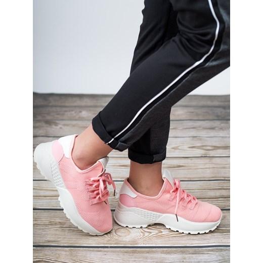 b5da7b19 Sneakersy damskie CzasNaButy gładkie wiosenne sznurowane w Domodi