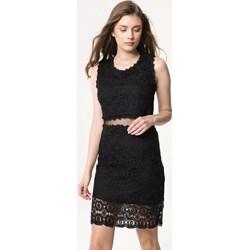 63a970f275 Sukienka Born2be dopasowana koronkowa