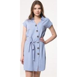 9a65f6b7fa Sukienka Born2be asymetryczna mini na wiosnę