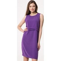 846e63f2fd Born2be sukienka fioletowa prosta