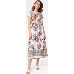 9f85ad1ff6 Sukienka Born2be z krótkim rękawem na spacer