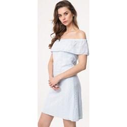 b6c85d3510 Sukienka Born2be z krótkim rękawem gładka