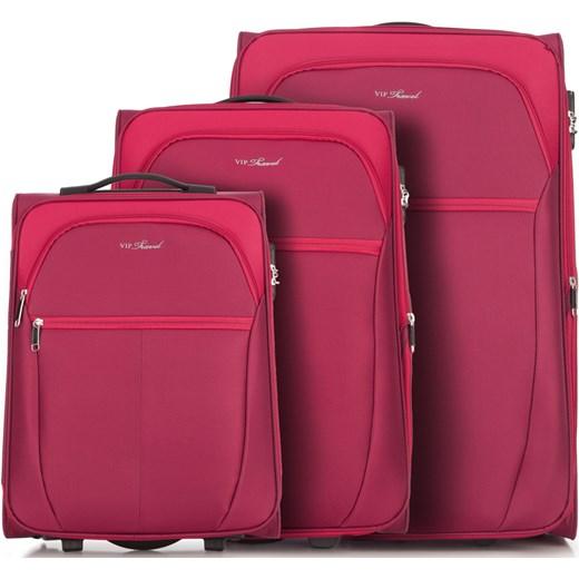 5c507fdd51b4a Czerwona walizka Wittchen damska w Domodi