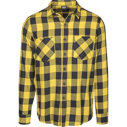 Koszula męska Urban Classics bawełniana z długim rękawem w  wkj6g